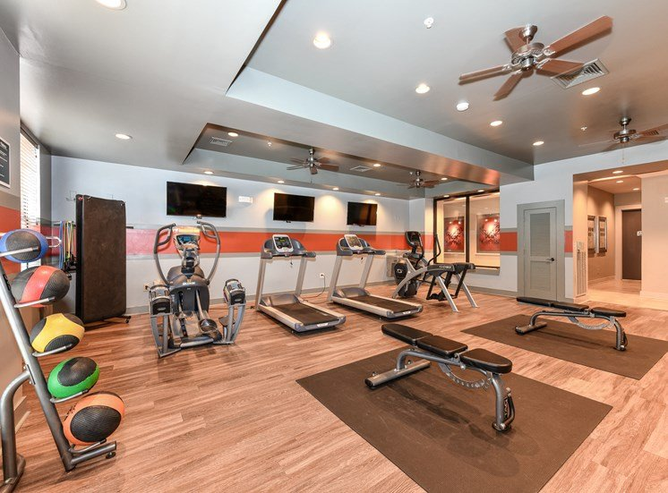 Newly renovated with brand new equipment, free weights, and yoga mats! Also, we offer Smart TV's so you can watch your favorite shows while exercising at The Bristol on Union, Memphis, TN 38104
