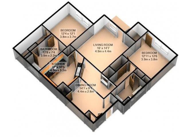 BEL AIR Floor Plan 4