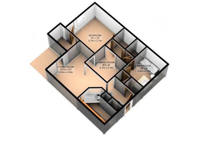 GLEN ABBEY Floor Plan 1