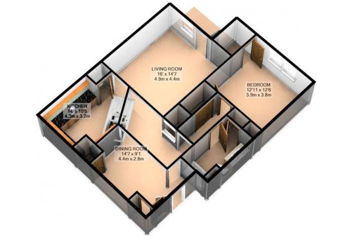 GLEN OAK Floor Plan 2