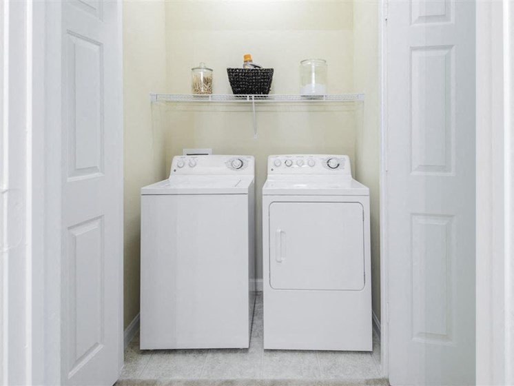 Laundry Convenience with Washer and Dryer in All Units at Carrington Park At Gulf Pointe, Houston, TX 77089