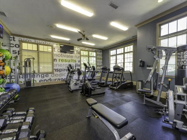 24-hour State-of-the-Art Fitness Center at Columns at Wakefield, Raleigh