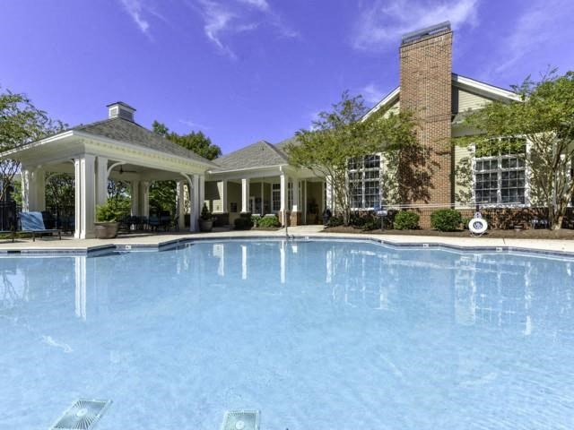 Outdoor Swimming Pool at Columns at Wakefield, Raleigh