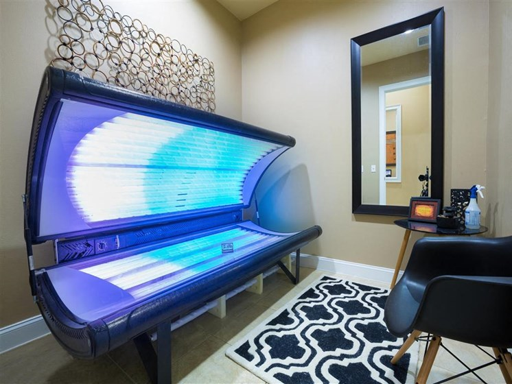 Tanning Salon for Private Resident Use Only at Courtney Bend Apartment Homes, Hardeeville, SC 29927