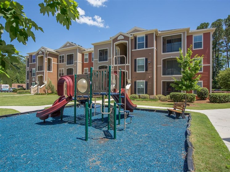 Tot Lot Playground at Courtney Bend Apartment Homes, Hardeeville, SC 29927