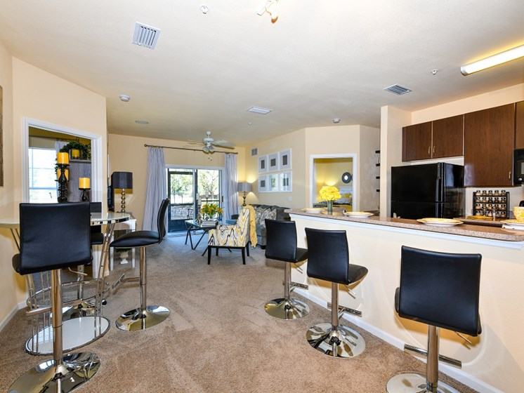 Complimentary Gourmet Java Bar with Lounge Seating at Courtney Isles Apartment Homes, Yulee, FL 32097