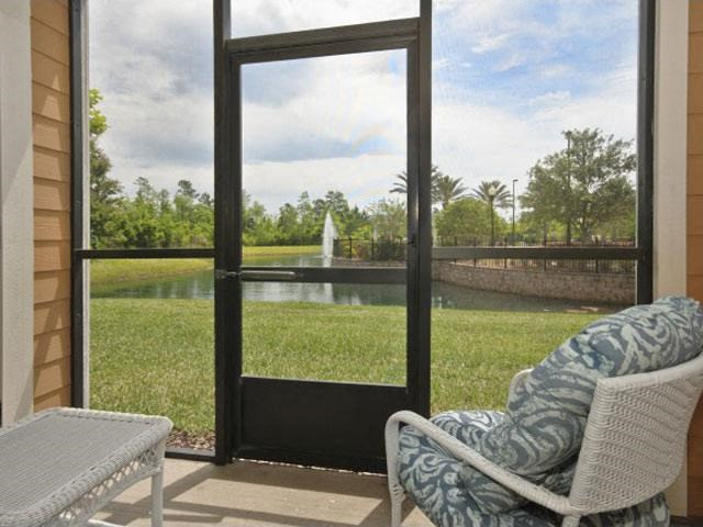 Let the Bright Sunshine in with Sunroom/Solarium Available in Select Units at Courtney Isles Apartment Homes, Yulee, FL 32097
