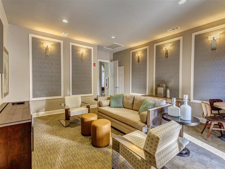 Stunning Modern Design Community Clubhouse with Ample Space and Amenities at Creekside at Providence Apartments, Mt. Juliet, TN 37122