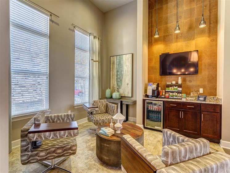 """Complimentary Coffee Bar complete with All the """"Perks"""" You Need to Get thru Your Day at Creekside at Providence Apartments, Mt. Juliet, TN 37122"""