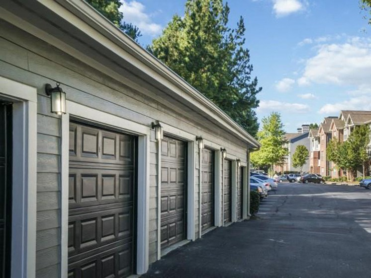 Garages and Storage Units Available at Estates at Crossroads, Duluth, GA 30096