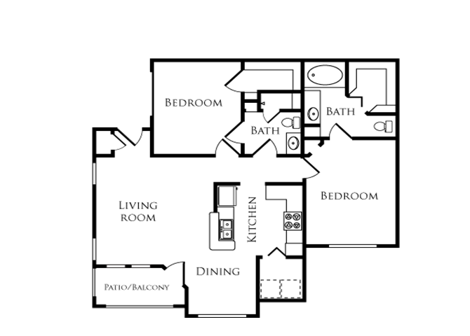 Cypress Floor Plan 4