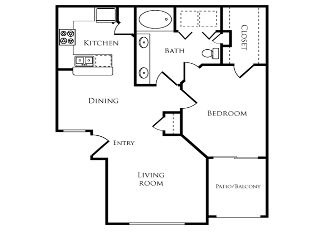 Oak Floor Plan 2