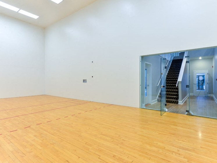 Enjoy a Game of Racquetball in our Two Indoor Racquetball Courts at Hampton Woods Apartments, Shawnee, KS 66217