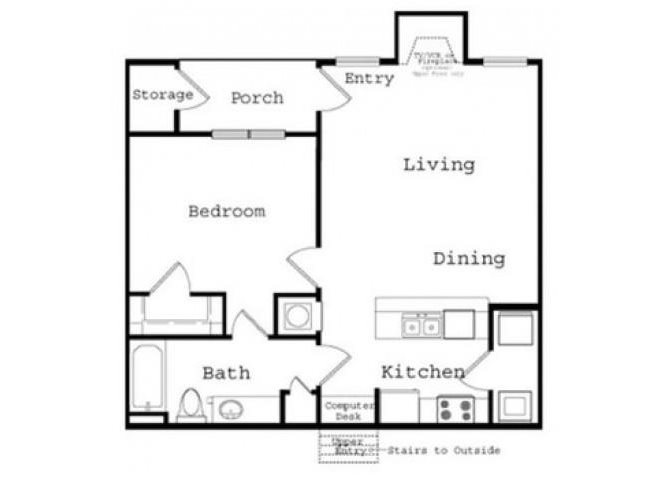 Banberry Upper Floor Plan 3