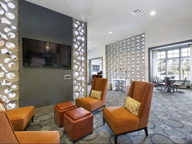 Stunning Modern Design Community Clubhouse with Ample Space and Amenities at Lone Oak Apartments, Round Rock, TX 78665