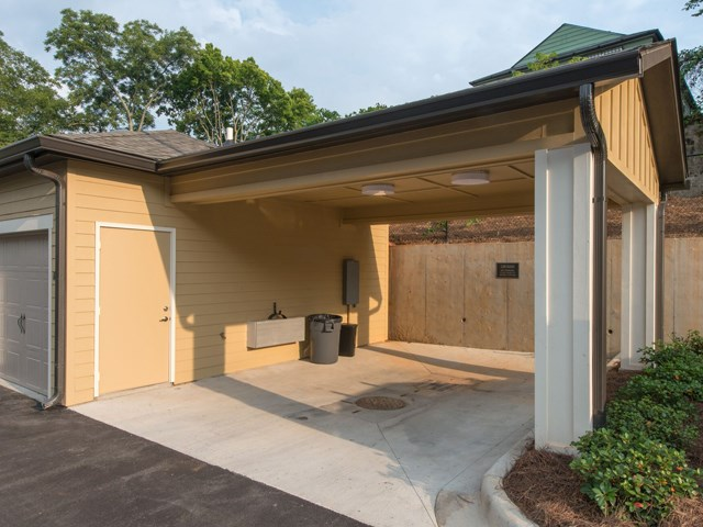 Wash and Detail Your Car in the Car Care Center at Moretti at Vulcan Park Apartment Homes, Homewood, AL 35209