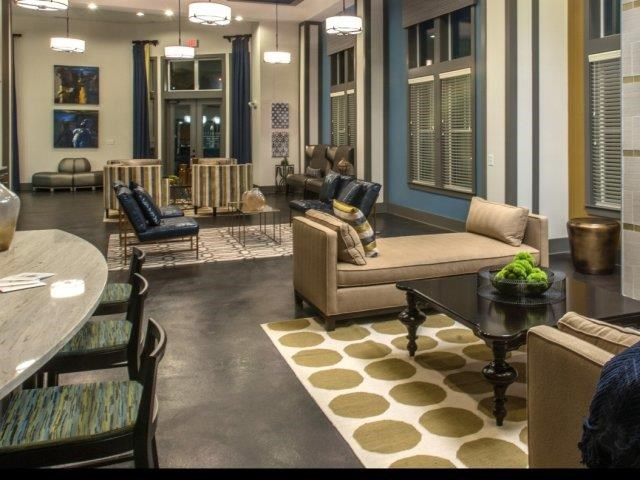 Stunning Modern Design Community Clubhouse with Ample Space and Amenities at Moretti at Vulcan Park Apartment Homes, Homewood, AL 35209