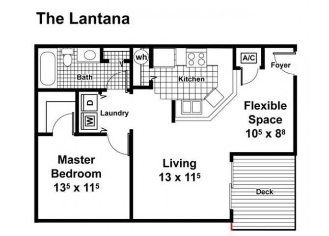 The Lantana Floor Plan 2