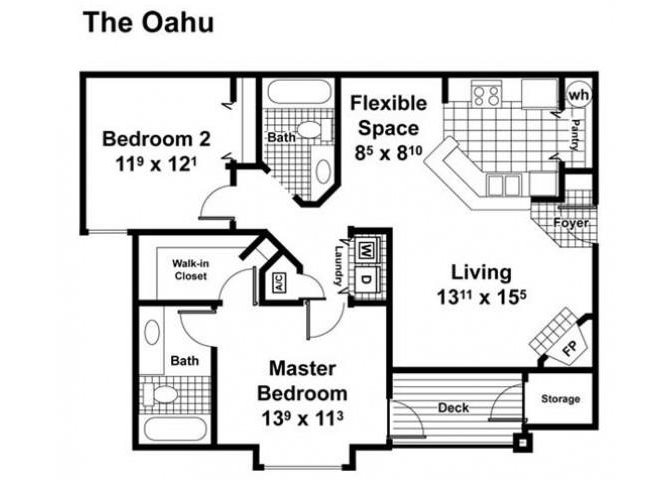 The Oahu Floor Plan 5