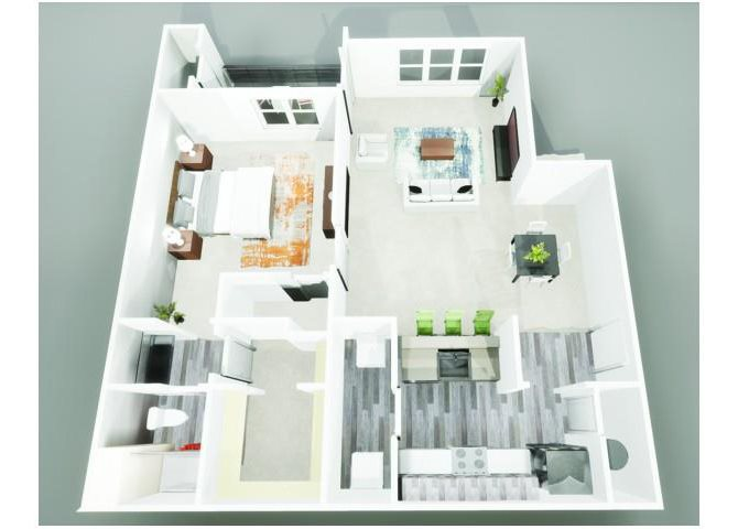 The Ponce (A1) Floor Plan 2