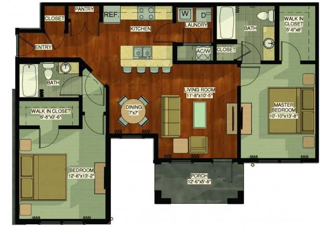 Flamingo Floor Plan 3