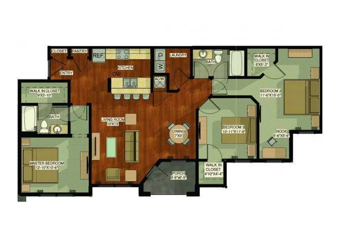 Spoonbill Floor Plan 6