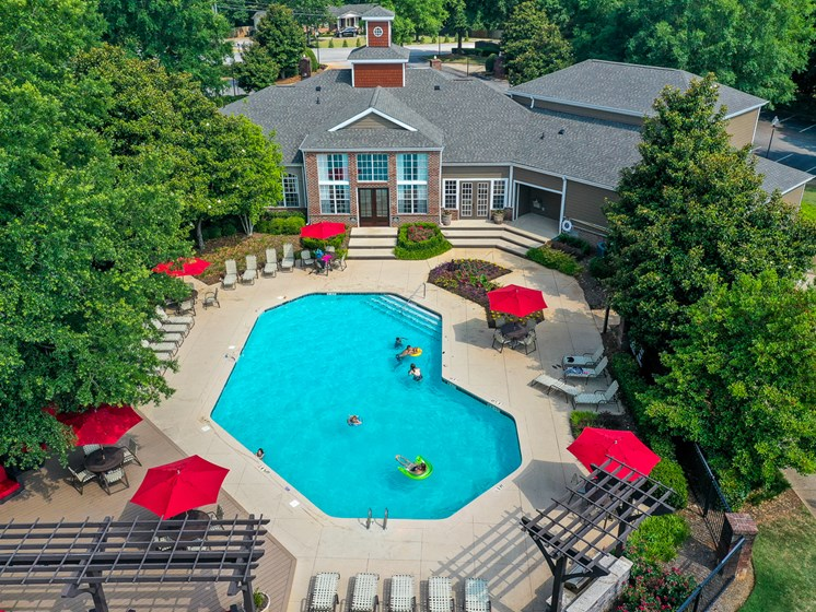 Resort-Style Pool at Polos at Hudson Corners, South Carolina, 29650
