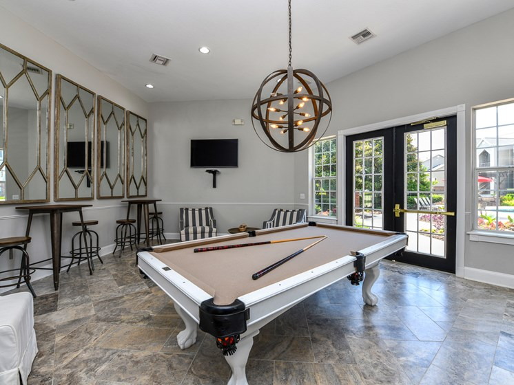 Billiards/Game Room at Polos at Hudson Corners, Greer, SC, 29650