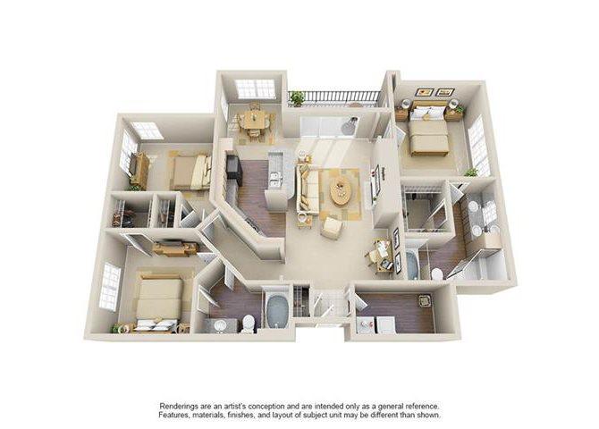 The Carlton Floor Plan 7