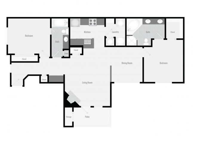 B3 Floor Plan 6