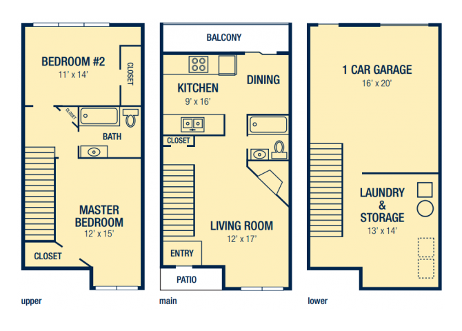 The Florentine Floor Plan 4