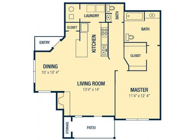 The Tuscona Floor Plan 1