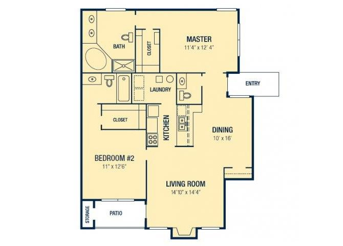 The Venice Floor Plan 2