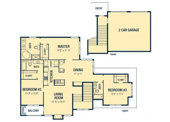 The Verona Floor Plan 5