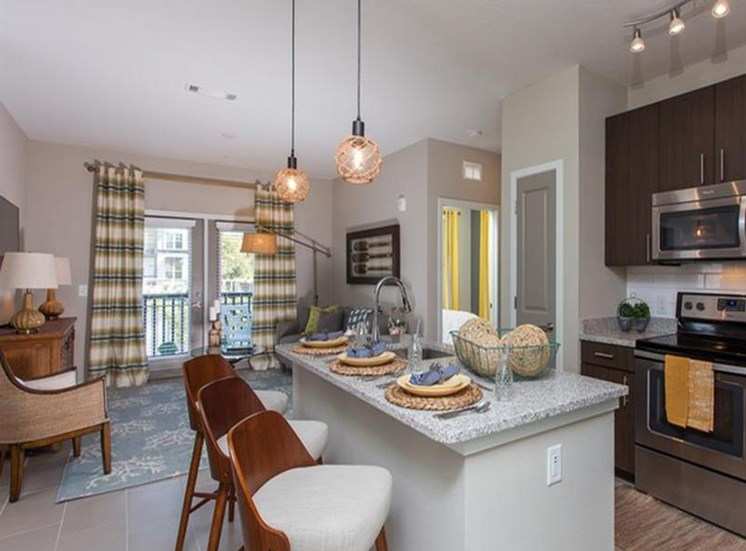 Chef-Inspired Kitchens Feature Stainless Steel Appliances at Spyglass Seaside, South Carolina