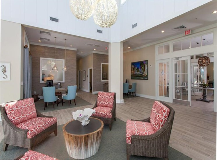 Clubroom with Wi-Fi Lounge at Spyglass Seaside, Charleston