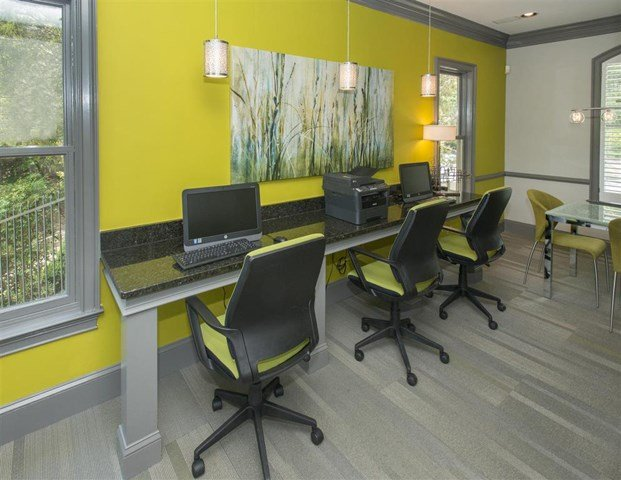 Resident Cyber Cafe at St. Andrews Apartment Homes, Johns Creek, GA
