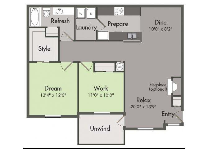 THE STERLING Floor Plan 1