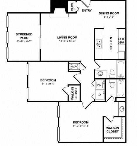 B2A Floor Plan 1