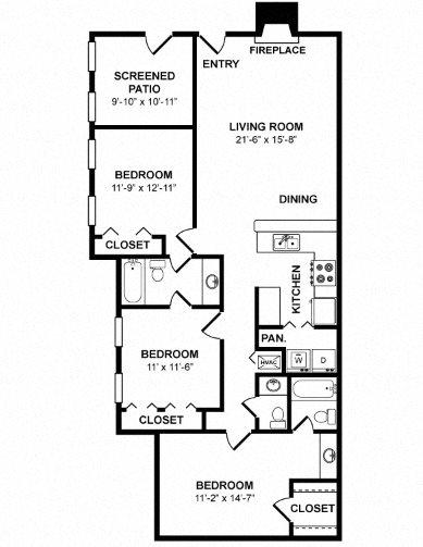 C3A Floor Plan 7