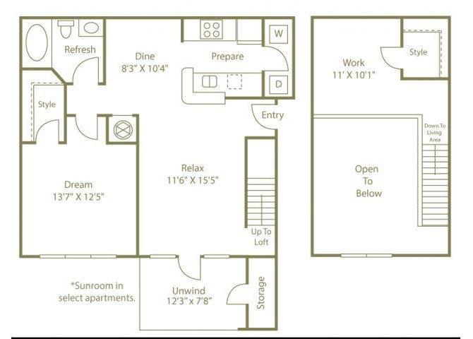 THE OCONEE Floor Plan 3