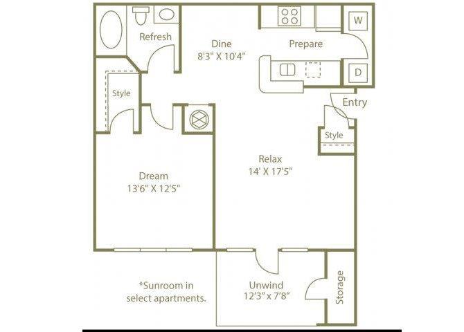 THE SAVANNAH Floor Plan 2