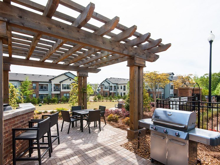 Grill Areas at Tapestry at Hollingsworth Park, South Carolina