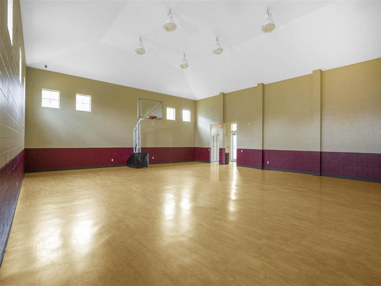 Want to shoot some hoops? Take advantage of our indoor basketball court at The Arlington at Eastern Shore Apartments, Spanish Fort, AL 36527