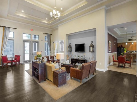 WiFI Hotspot throughout Clubhouse and Pool area at The Arlington at Eastern Shore Apartments, Spanish Fort, AL 36527