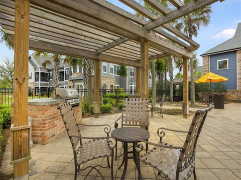 Enjoy the Outdoor Cabanas and Grilling Areas at The Arlington at Eastern Shore Apartments, Spanish Fort, AL 36527