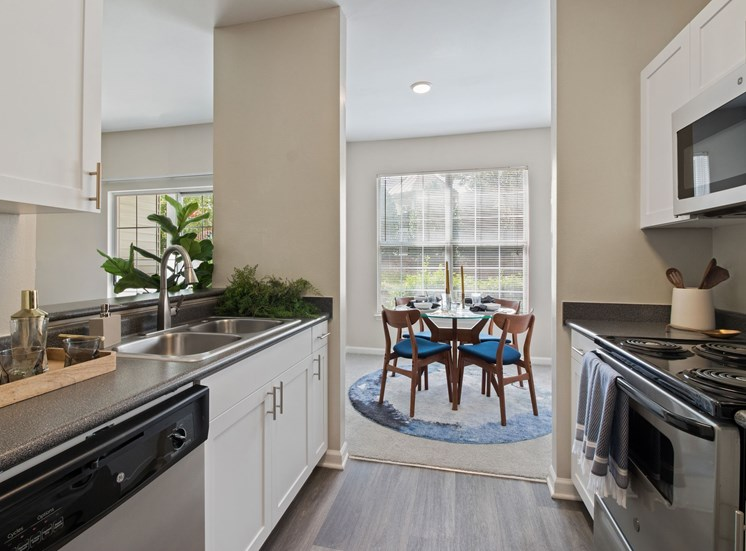 Fully Equipped Kitchen at The Enclave at Crossroads, Raleigh, NC, 27606