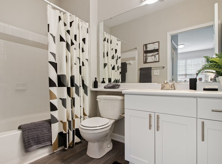 Large Bathrooms at The Enclave at Crossroads in Cary, NC. Offering a variety of open floor plans