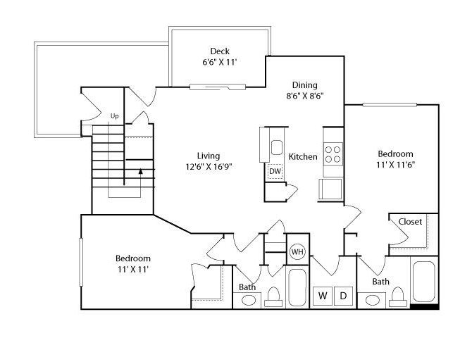 The Currituck Floor Plan 2