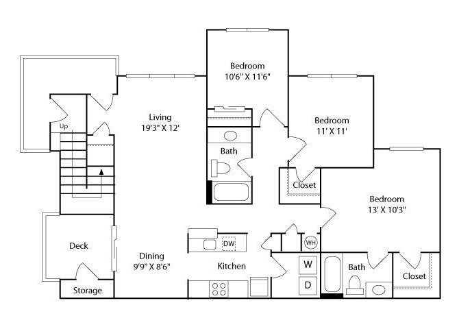 The Okracoke Floor Plan 3